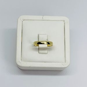 Real 10k Gold Band Ring 3mm Size 8